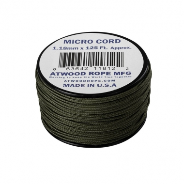 Atwood Rope MFG - Micro Cord (125ft) - Olive Drab