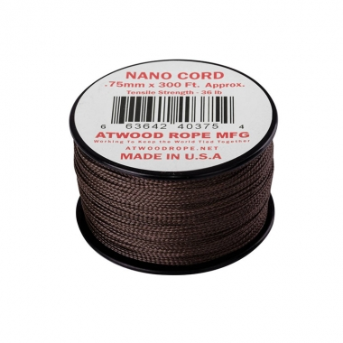 Atwood Rope MFG - Nano Cord (300ft) - Brown
