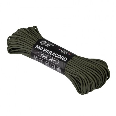 Helikon-Tex - 550 Paracord (100ft) - Olive Drab