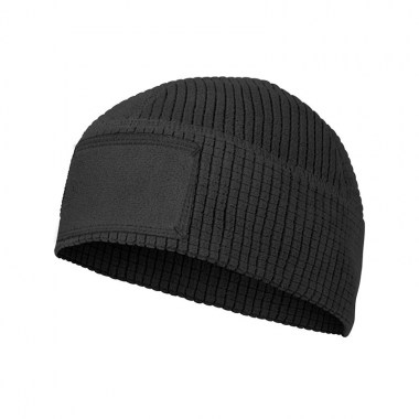 Helikon-Tex - RANGE Beanie Cap - Grid Fleece - Black