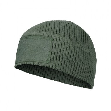 Helikon-Tex - RANGE Beanie Cap - Grid Fleece - Olive Green