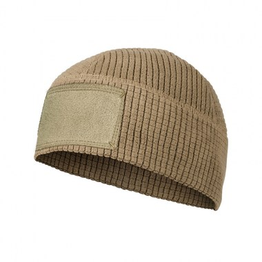 Helikon-Tex - RANGE Beanie Cap - Grid Fleece - Coyote