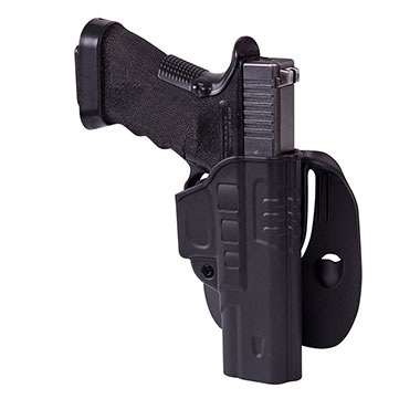 Helikon-Tex - Fast Draw Holster for Glock 17 with Paddle - Military Grade Polymer - Black