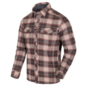Helikon-Tex - Defender Mk2 PILGRIM Shirt - Rust Plaid
