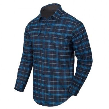 Helikon-Tex - GreyMan Shirt - Blue Stonework Plaid