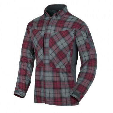 Helikon-Tex - MBDU Flannel Shirt - Ruby Plaid