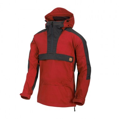 Helikon-Tex - WOODSMAN Anorak Jacket - Crimson Sky / Ash Grey