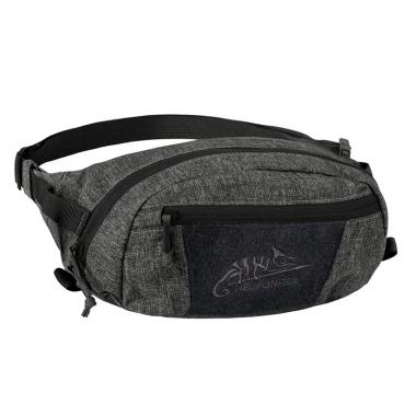 Helikon-Tex - BANDICOOT Waist Pack - Nylon Polyester Blend - Black-Grey Melange