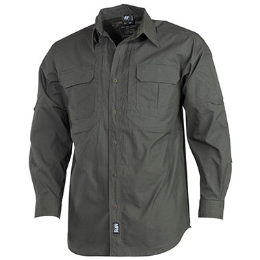 Max Fuchs - Strike Shirt Teflon Rip Stop Long sleeves - OD green
