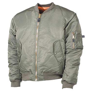 Max Fuchs - US Flight Jacket MA1 - OD green
