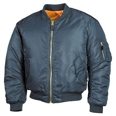 Max Fuchs - US Flight Jacket MA1 - blue