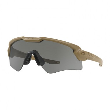 Oakley - Standard Issue Ballistic M Frame Alpha - Terrain Tan Frame with Grey Lenses