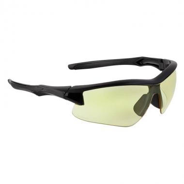 UVEX - Honeywell Acadia Shooter's Safety Eyewear - Frame Black/Lens Amber