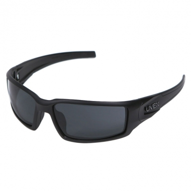 UVEX - Honeywell Hypershock Shooter's Safety Eyewear - Frame Black/Lens Grey