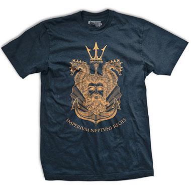 Ranger Up - King Neptune Shellback Normal-Fit T-Shirt