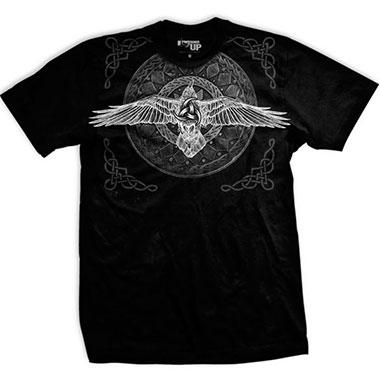 Ranger Up - Black Raven Viking Athletic-Fit T-Shirt