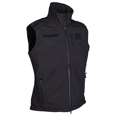 Sturm - Black Softshell Vest