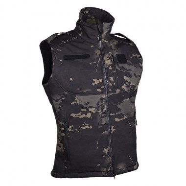 Sturm - Multitarn Black Softshell Vest