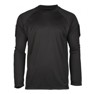 Sturm - Black Tactical Long Sleeve Shirt Quickdry