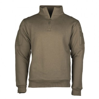 Sturm - Ranger Green Tactical Sweat-Shirt With Zipper