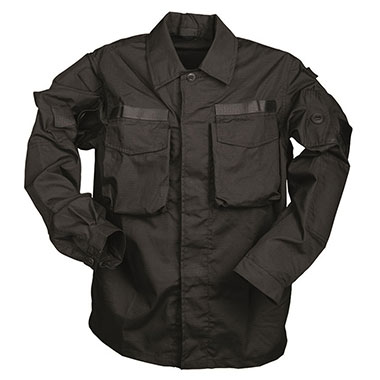 Sturm - German Black Commando Smock Shirt