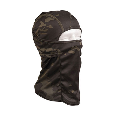 Sturm - Multitarn Black Tactical Balaclava Open