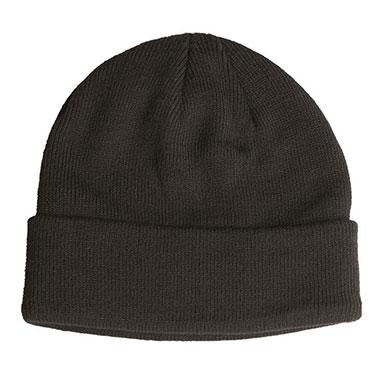 Sturm - Black Fine Knitwear Acrylic Watch Cap