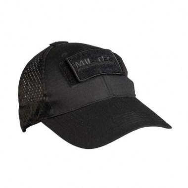 Sturm - Black Net Baseball Cap