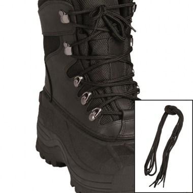 Sturm - Black Polyester Shoe Laces 180 cm
