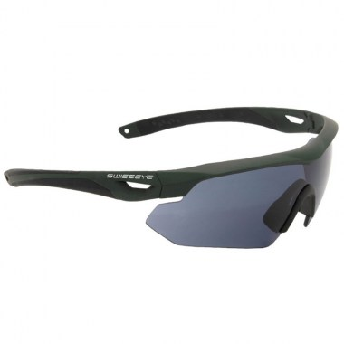 Swiss Eye - Nighthawk - Frame Olive/Lens Smoke