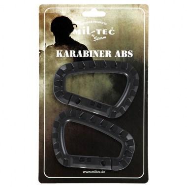 Sturm - Black Carabiner ABS