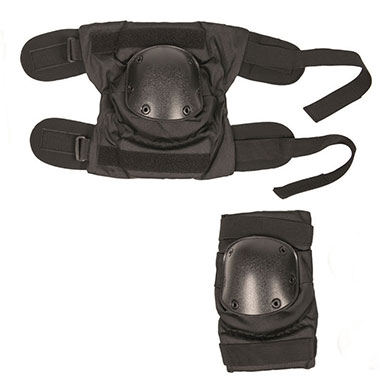 Sturm - Black Pull-Over Style Knee Pads