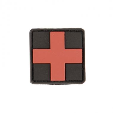 Sturm - Black PVC 3D First Aid Patch W.Hook&Loop Clos.Sm