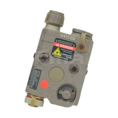 FMA - AN-PEQ-15 Upgrade Version LED White light + Red laser with IR Lenses - Dark Earth
