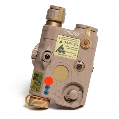 FMA - PEQ LA5 Upgrade Version LED White light + Red laser with IR Lenses - Dark Earth