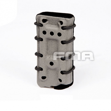 FMA - Scorpion Pistol Mag Carrier- Single Stack For 45acp With Flocking - Foliage Green