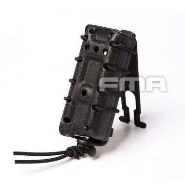 FMA - Scorpion Pistol Mag Carrier- Single Stack For 9mm - Black