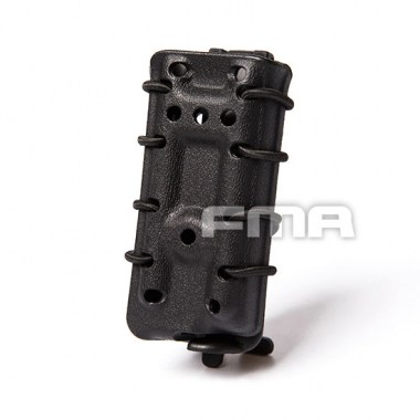 FMA - Scorpion Pistol Mag Carrier- Single Stack For 45acp - Black