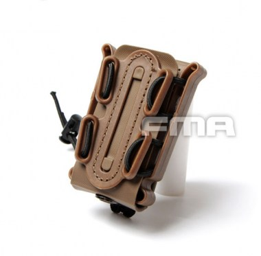 FMA - Soft Shell Scorpion Mag Carrier (for Single Stack) - Dark Earth