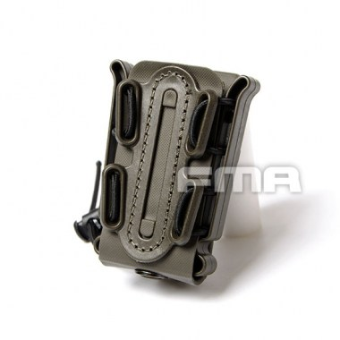 FMA - Soft Shell Scorpion Mag Carrier (for Single Stack) - Olive Drab