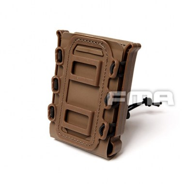 FMA - Soft Shell Scorpion Mag Carrier (For 7.62) - Dark Earth