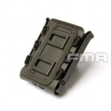 FMA - Soft Shell Scorpion Mag Carrier (For 7.62) - Olive Drab