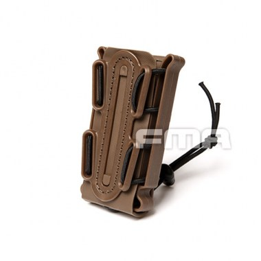 FMA - Soft Shell Scorpion Mag Carrier (For 9mm) - Dark Earth