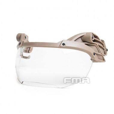 FMA - Helmet Goggle DE TRANSPARENT Lenses - Dark Earth