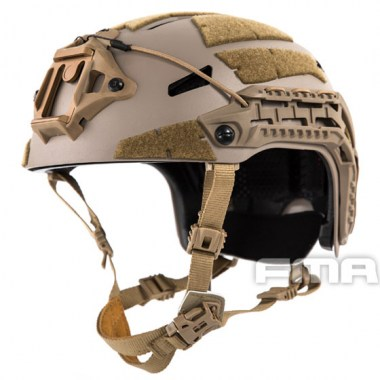 FMA - Caiman Ballistic Helmet New Liner Gear Adjustment - Dark Earth Tan