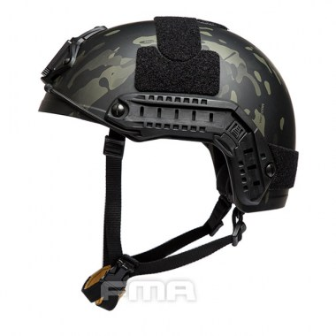 FMA - Ballistic aramid Thick and Heavy version Helmet - Multicam Black
