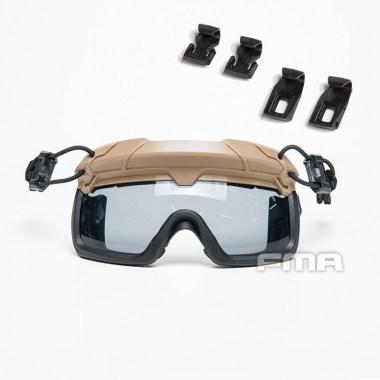 FMA - Tactical Helmet Safety Goggles GRAY - Dark Earth