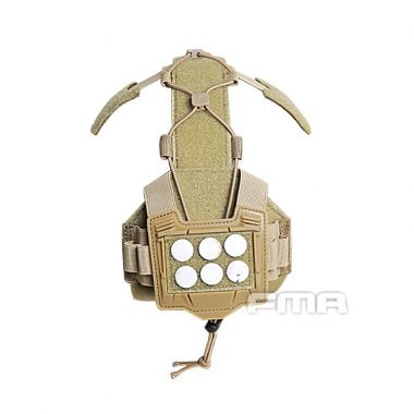 FMA - Universal Agility Bridge Cover For Tactical Helmet - Dark Earth