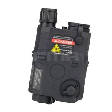 FMA - PEQ 15 Battery Case + Red Laser - Black