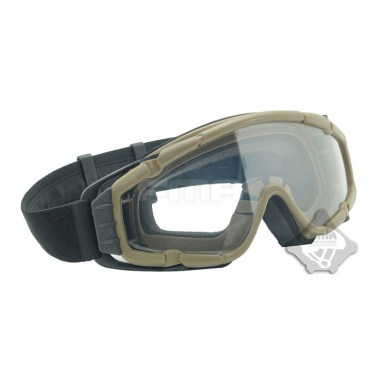 FMA - SI-Ballistic-Goggle Updated Version Fan Version - Dark Earth